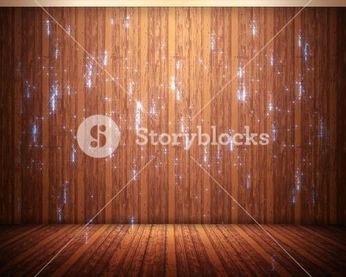 Background of flooring with sparks