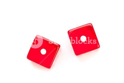 Two faces of dices