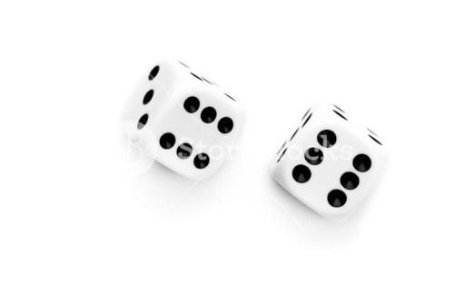 Two dices thrown