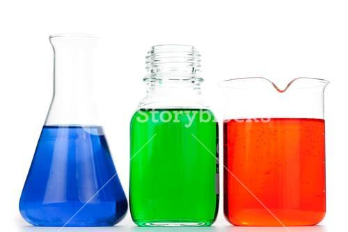 Beakers and an erlenmeyer