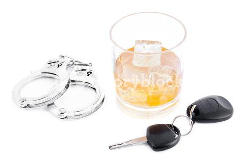 Handcuff a whiskey and a car key