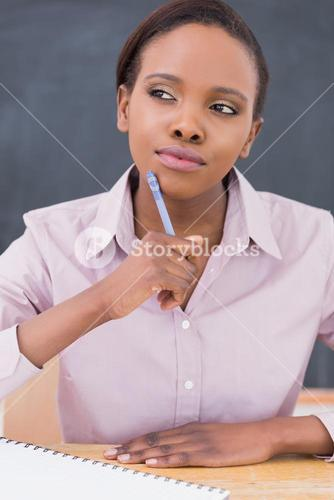 Black teacher thinking