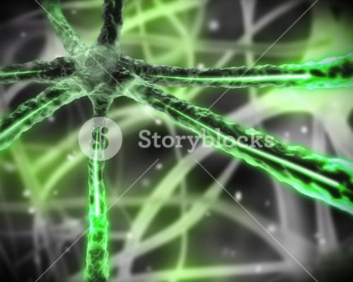 Green microscopic nervous system