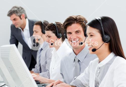 Selfassured customer service representatives