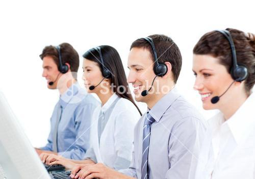 Selfassured customer service representatives team