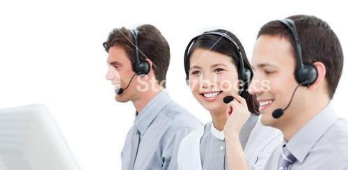 Concentrated customer service representatives team