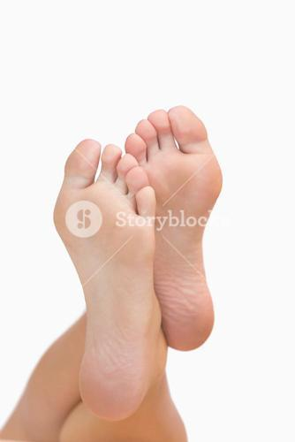 Womans feet