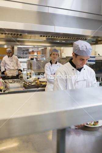 Three Chefs cooking