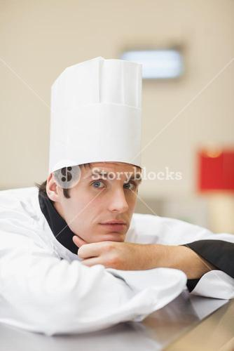 Thoughtful chef