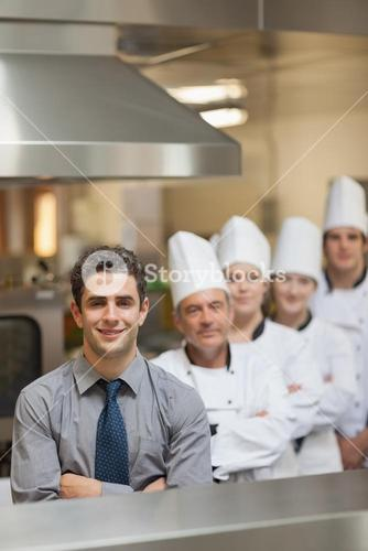 Waiter and Chefs