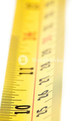 Part of a measuring tape