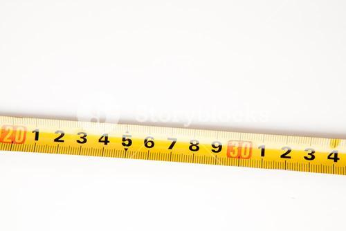 Sector of measuring tape