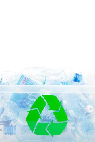Plastic box for recycling