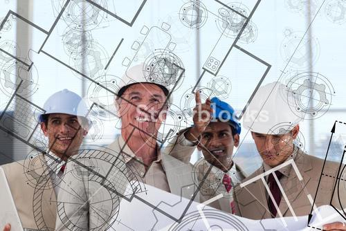 Architects envisioning their idea