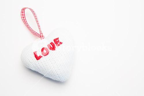 Wool love decoration