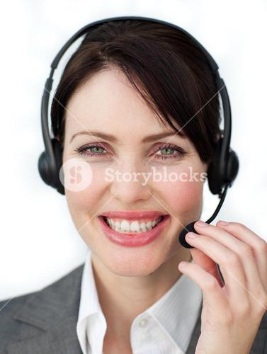 Enthusiastic customer service agent