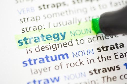 Strategy definition highlighted