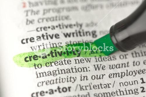 Creativity definition highlighted in green