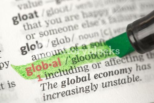 Global definition highlighted in green