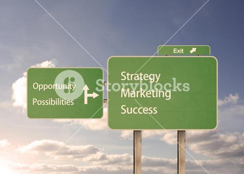 Possibilities and marketing road signs
