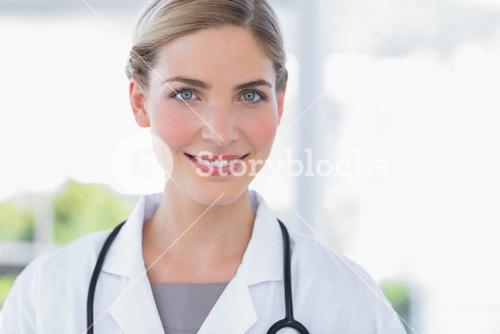 Radiant woman doctor