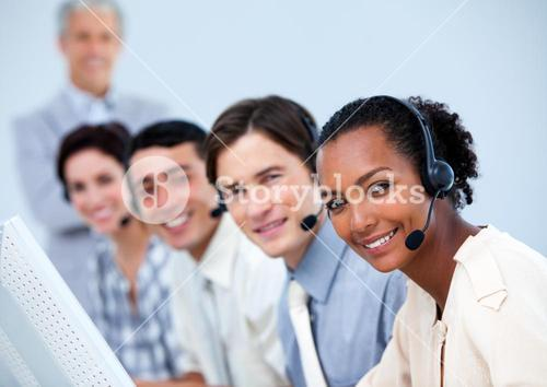 Charming customer service representatives