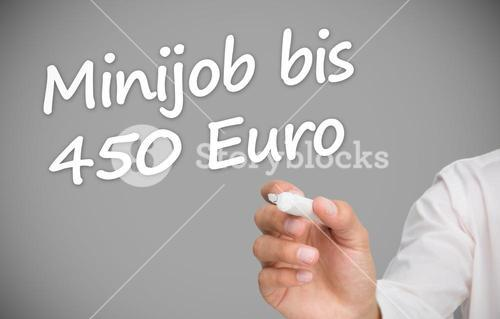 Hand writing minijob bis 450 euro