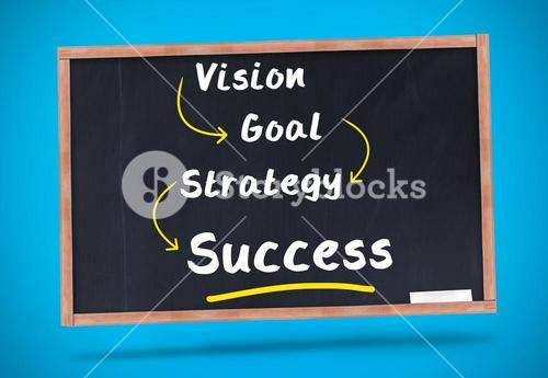 Word success underlined in yellow