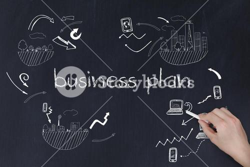 Hand writing business plan