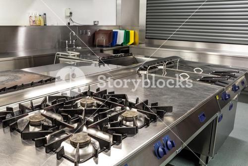 Picture of professional kitchen
