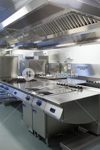 Picture of hotel kitchen