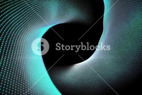 Abstract black and turquoise background