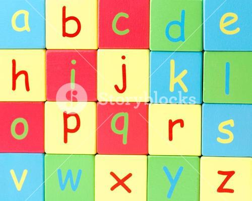 All the Letters of the Alphabet