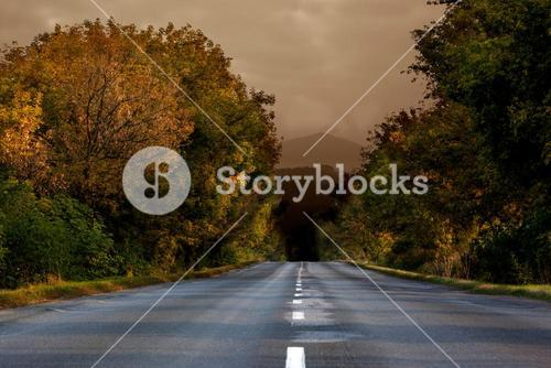 Open road background
