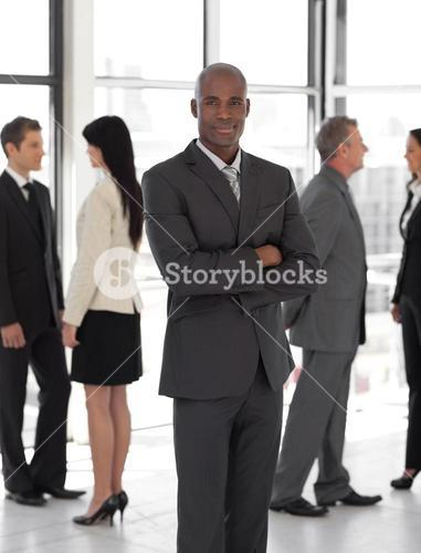 Concentrated business leader