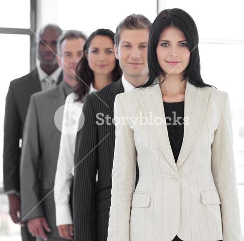 Female business leader