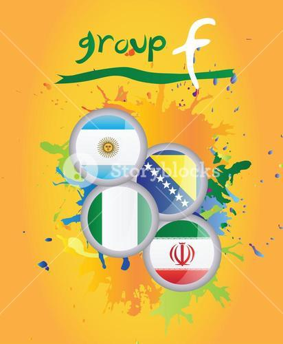 World cup group f vector