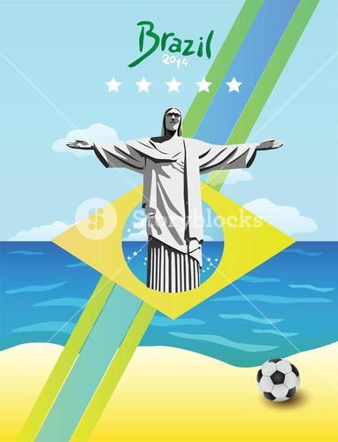 Brazil world cup vector