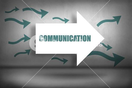 Communication against arrows pointing