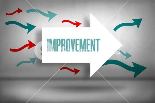 Improvement against arrows pointing