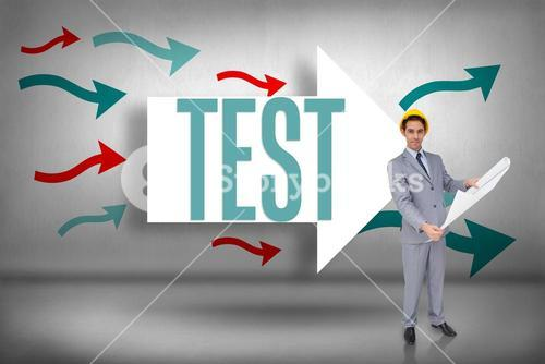 Test against arrows pointing