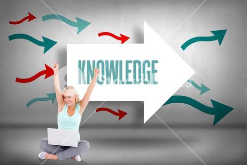 Knowledge against arrows pointing