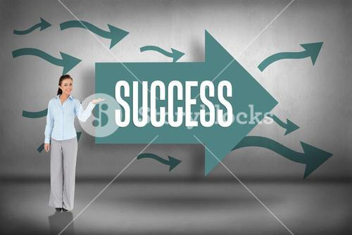 Success against arrows pointing
