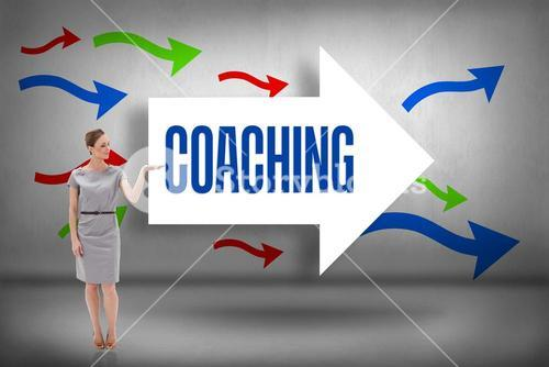 Coaching against arrows pointing