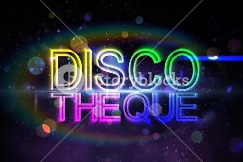 Digital discotheque text