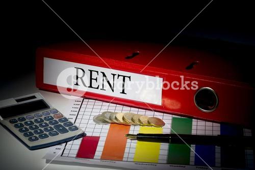 Rent on red business binder