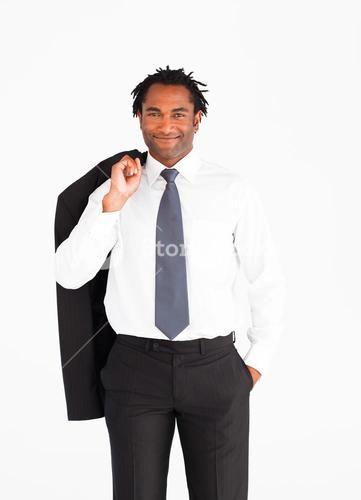 Welldressed businessman
