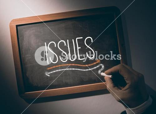 Hand writing Issues on chalkboard