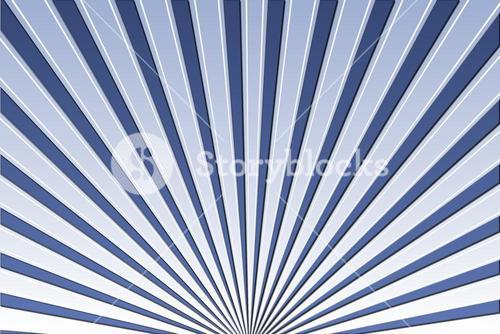 Cool linear pattern in blue