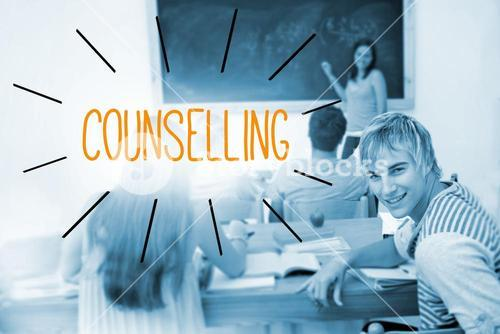Counselling against students in a classroom
